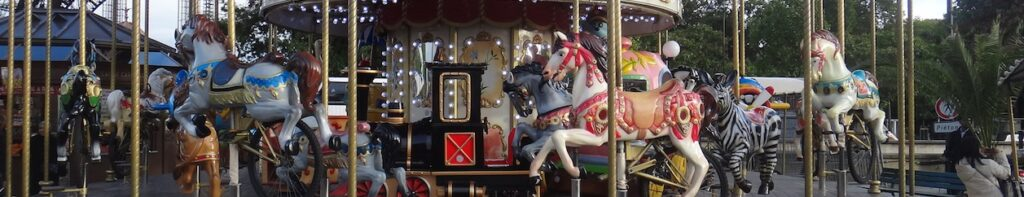 decorative image of a carousel